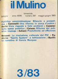 Copertina del fascicolo dell'articolo Espansione e controllo della spesa pubblica