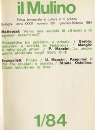 Copertina del fascicolo dell'articolo Individui e società nel pensiero di Habermans