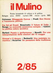 Copertina del fascicolo dell'articolo Poesia e