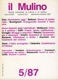 Copertina del fascicolo dell'articolo Un'epistemologia per l'ideologia