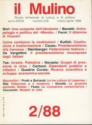 Copertina del fascicolo dell'articolo La via eccentrica di Masini