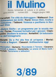 Copertina del fascicolo dell'articolo Rivolta e rivoluzione nel pensiero di Simone Weil
