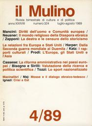 Copertina del fascicolo dell'articolo I rapporti culturali fra Europa e Stati Uniti dopo la Seconda guerra mondiale