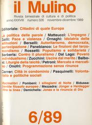 Copertina del fascicolo dell'articolo Povero individualismo