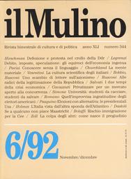 Copertina del fascicolo dell'articolo Lettere sull'azionismo