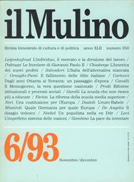 Copertina del fascicolo dell'articolo Una costituzione per l'Europa