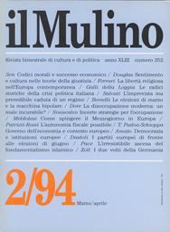 Copertina del fascicolo dell'articolo Le radici storiche di una crisi