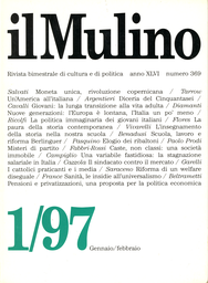 Copertina del fascicolo dell'articolo Scuola, lavoro e riforma Berlinguer