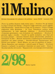 Copertina del fascicolo dell'articolo Milano, un caso di squilibrio di status