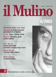 Copertina del fascicolo dell'articolo La nuova Germania alla ricerca di un'identità