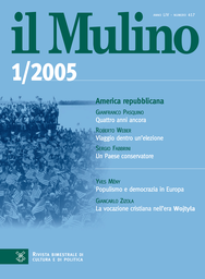 Copertina del fascicolo dell'articolo L'autoriforma del sindacato