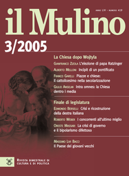 Copertina del fascicolo dell'articolo Crisi e ricostruzione della destra italiana