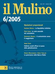 Copertina del fascicolo dell'articolo Il centrosinistra senza il maggioritario