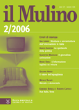 cover del fascicolo, Fascicolo arretrato n.2/2006 (marzo-aprile)