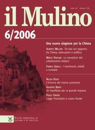 Copertina del fascicolo dell'articolo Un nuovo ruolo internazionale per l'Europa