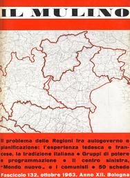 Copertina del fascicolo dell'articolo La libertà amministrativa nel progetto Minghetti