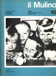 Copertina del fascicolo dell'articolo Appunti sulla cultura architettonica e urbanistica italiana, 1945-1968