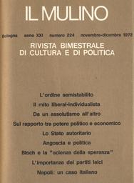 Copertina del fascicolo dell'articolo I partiti laici e la modernizzazione del sistema politico italiano