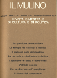 Copertina del fascicolo dell'articolo Il ritorno del romanzesco