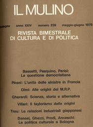 Copertina del fascicolo dell'articolo L'unità delle sinistre in Francia (e in Italia)