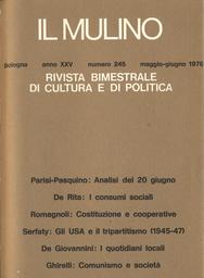 Copertina del fascicolo dell'articolo Il mercato dei quotidiani locali nell'editoria nazionale