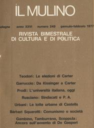 Copertina del fascicolo dell'articolo Sindacato, piccola impresa e politica delle alleanze