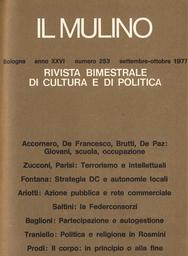 Copertina del fascicolo dell'articolo Politica e amministrazione negli archivi di stato