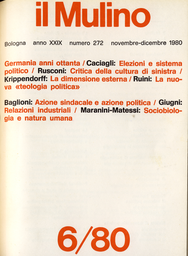 Copertina del fascicolo dell'articolo Sociobiologia e specificità dell'uomo